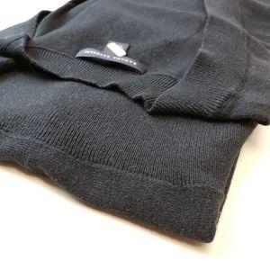 Banana Republic Tops - Black Banana Republic Silk Cotton Cashmere Sweater
